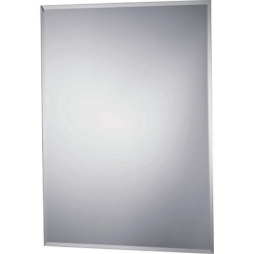 Rectangular Bevelled bathroom mirror