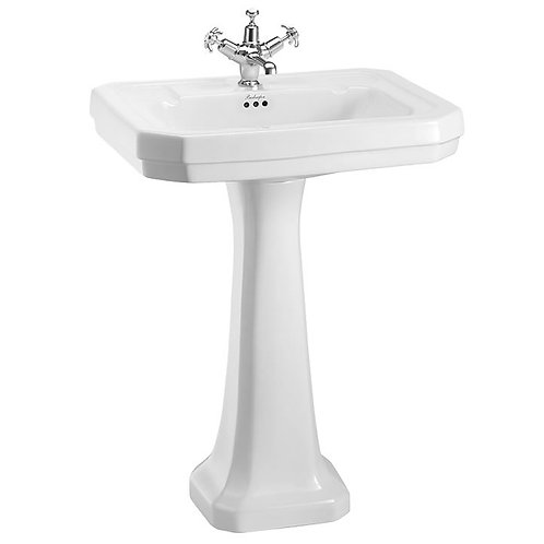 Burlington Victorian square Basin and Pedestal