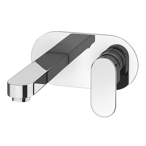 Soho modern wall mounted bath filler
