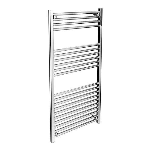 Straight towel rail heater 500 x 1200 mm