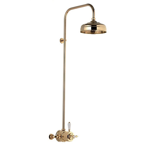 Aqualisa gold thermostatic shower set
