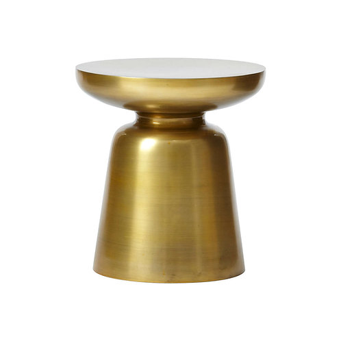 Dixon brass side table