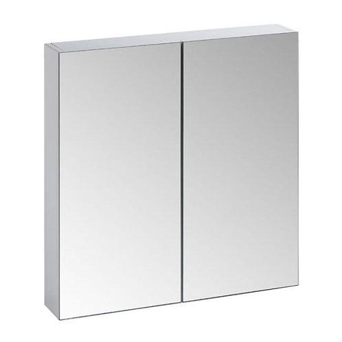 Mirror double door cabinet