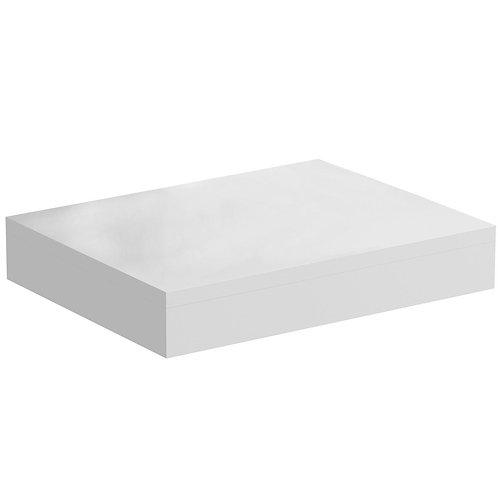 Mode Orion white wall hung shelf for basin