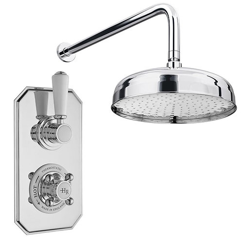 Hudson Reed traditional thermostatic concealed shower set