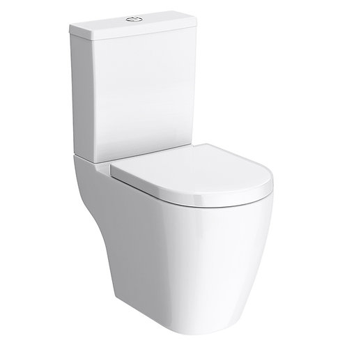 Bianco Close Coupled Toilet with Soft close Seat