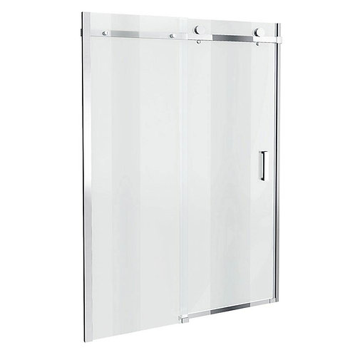 Frameless sliding shower door L1600