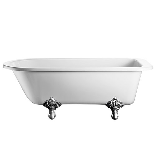Burlington traditional freestanding bath with legs 1700