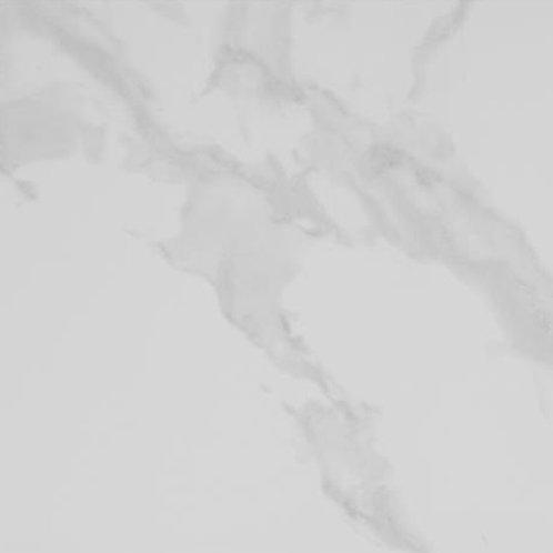 Glossy white marble effect anti slip tile