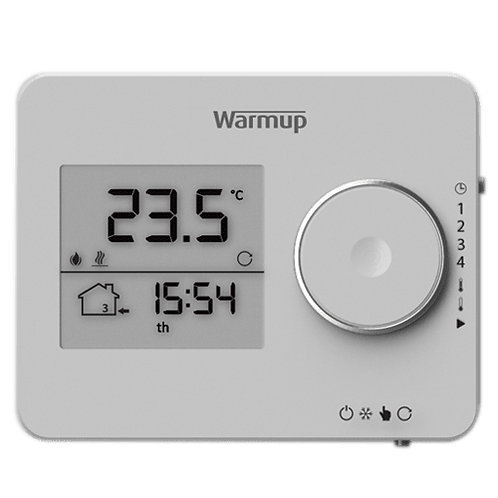 Tempo digital underfloor heating thermostat