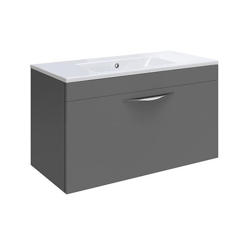 Hudson Reed drawer vanity unit with basin