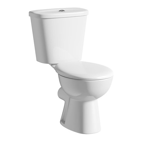Modern close coupled toilet