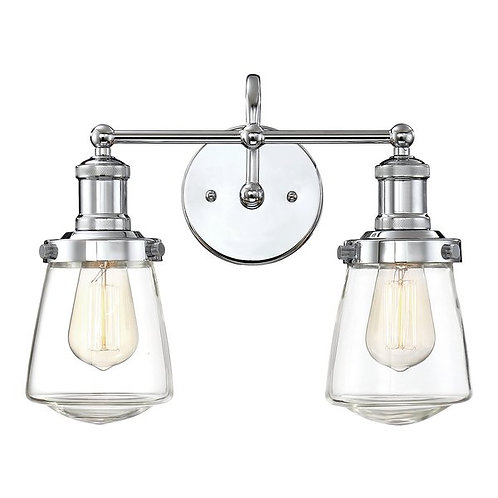 Shoreditch vanity wall light
