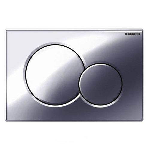 Geberit chrome flush plate