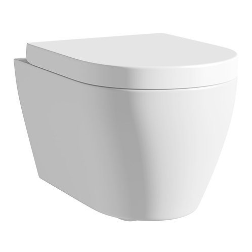 Mode Harrison wall hung toilet with mounting frame and cistern