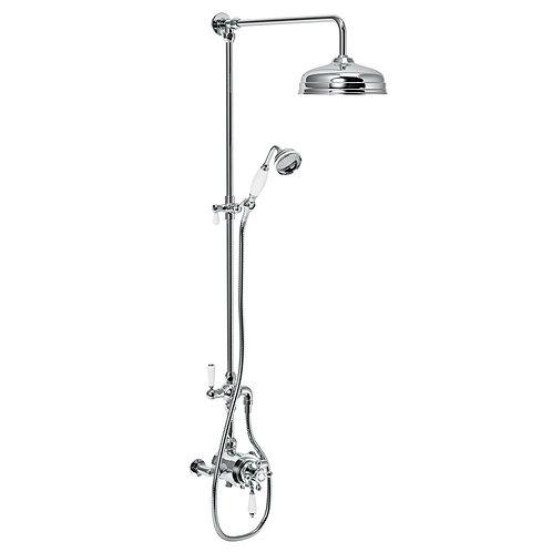 Trafalgar Victorian Exposed Thermostatic shower set