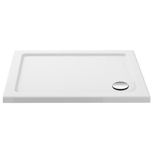 Slimline rectangular shower tray