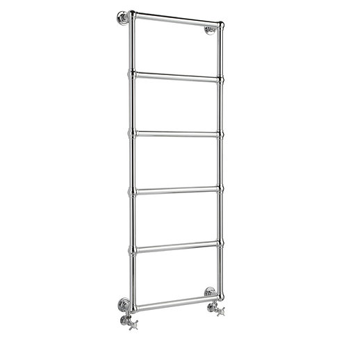 Hudson Reed traditional wall mounted heated towel rail 600 x 1550