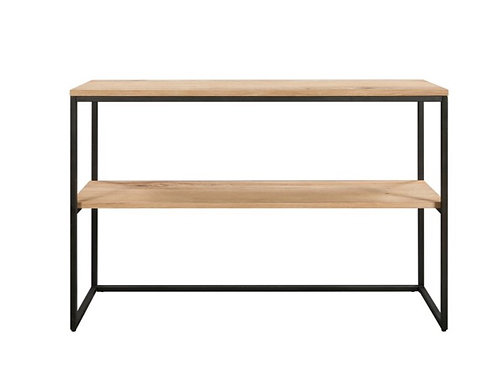 Loft bathroom console table
