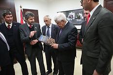 Presidente da Palestina, Mahmoud Abbas