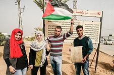 Monumento em homenagem à independência palestina