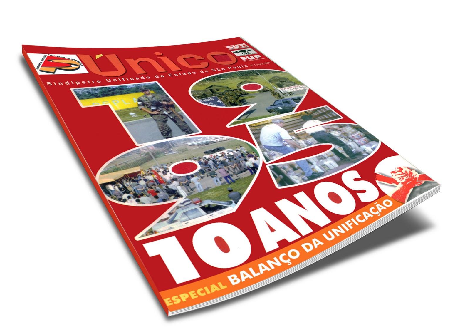 Revista comemorativa Sindipetro-SP