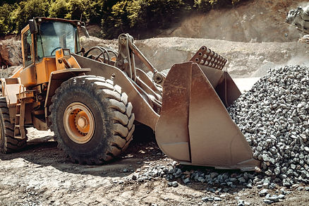 close-up-of-wheel-loader-loading-gravel-