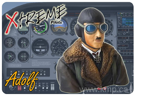 """Pilot Bust  - 1/6th Scale  WWII """"ADOLF"""""""