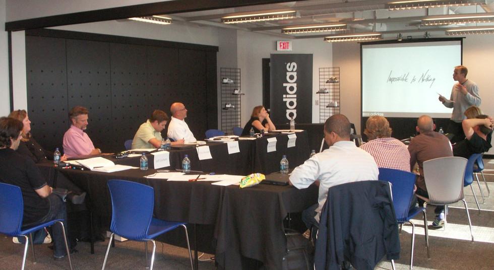 adidas Western Regional Sales Meeting