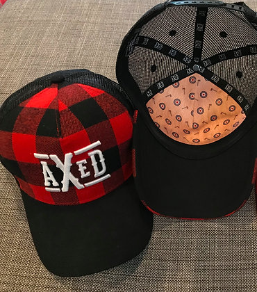 Custom Plaid AXED Hat
