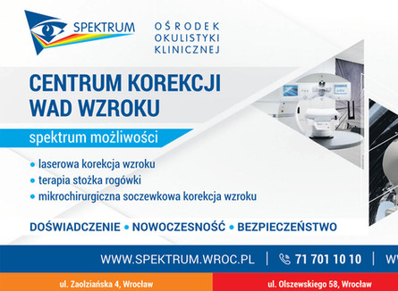 Widzę wszystko. Spójrz na świat bez okularów w Centrum Korekcji Wad Wzroku we Wrocławiu