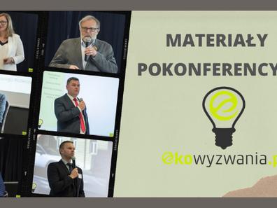 Konferencja Eko wyzwania po raz kolejny poruszyły szereg najistotniejszych kwestii ekologicznych.
