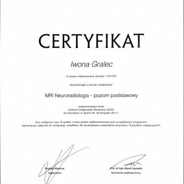 MRI - Neauroradiologia