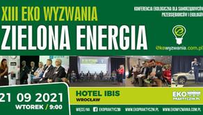 Czas na XIII Eko Wyzwania – Zielona Energia!