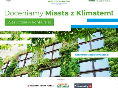 Miasto z klimatem - Ministerstwo zaprasza miasta do konkursu