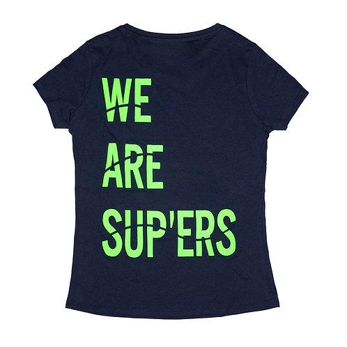 We Are Sup'ers Fluor Ladies Tee Slim Fit