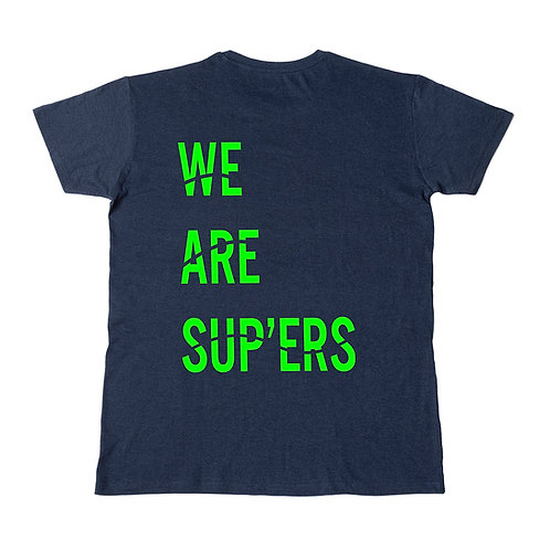 We Are Sup'ers Fluor Unisex Tee Loose Fit