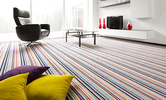 carpet strip in lounge