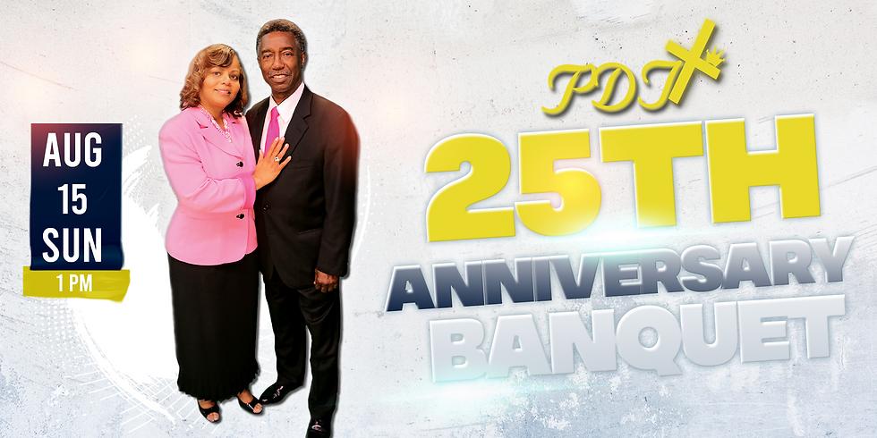 PDT 25th Anniversary Banquet