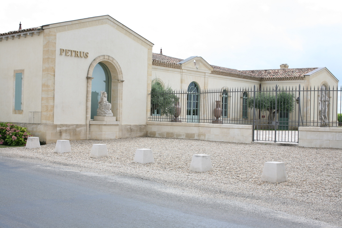Château Petrus à Pomerol