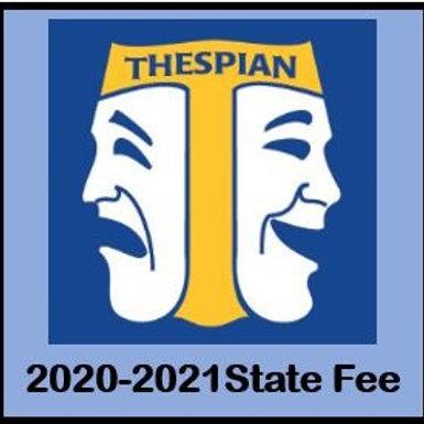Texas Thespian State Fee