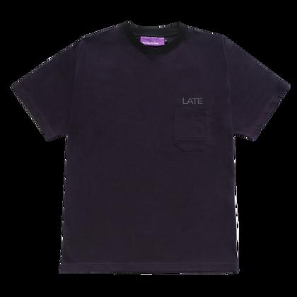 Late Pocket Tee - Dark Purple