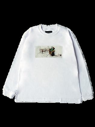 SAS LS T-Shirt White