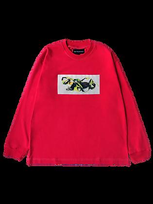 Five O Line LS T-Shirt Magenta