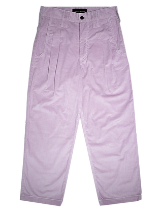 Spacey Cord Pants - Lilac