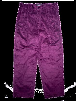 Spacey Cord Pants - Wine