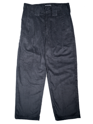 Spacey Cord Pants - Charcoal Grey