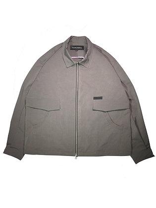 Mecha Zipper Jacket - Grey