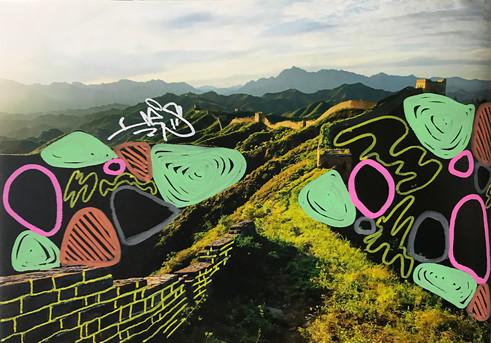 万里の長城 in China