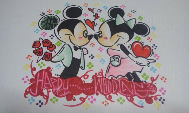 ミッキー × ミニー